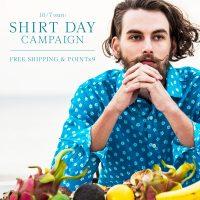 10月7日は「シャツの日」キャンペーン開催!