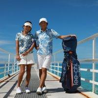 リゾートゴルフは PAIKAJI ポロシャツが気持ちいい!